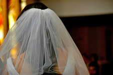 wedding veil bride