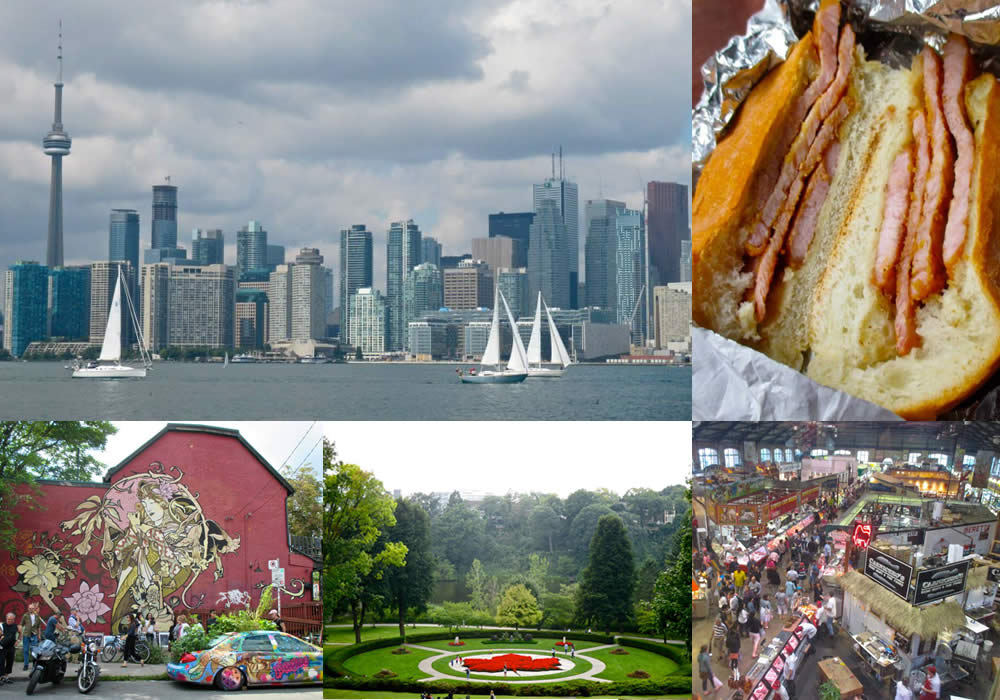 weekend destination Toronto composite