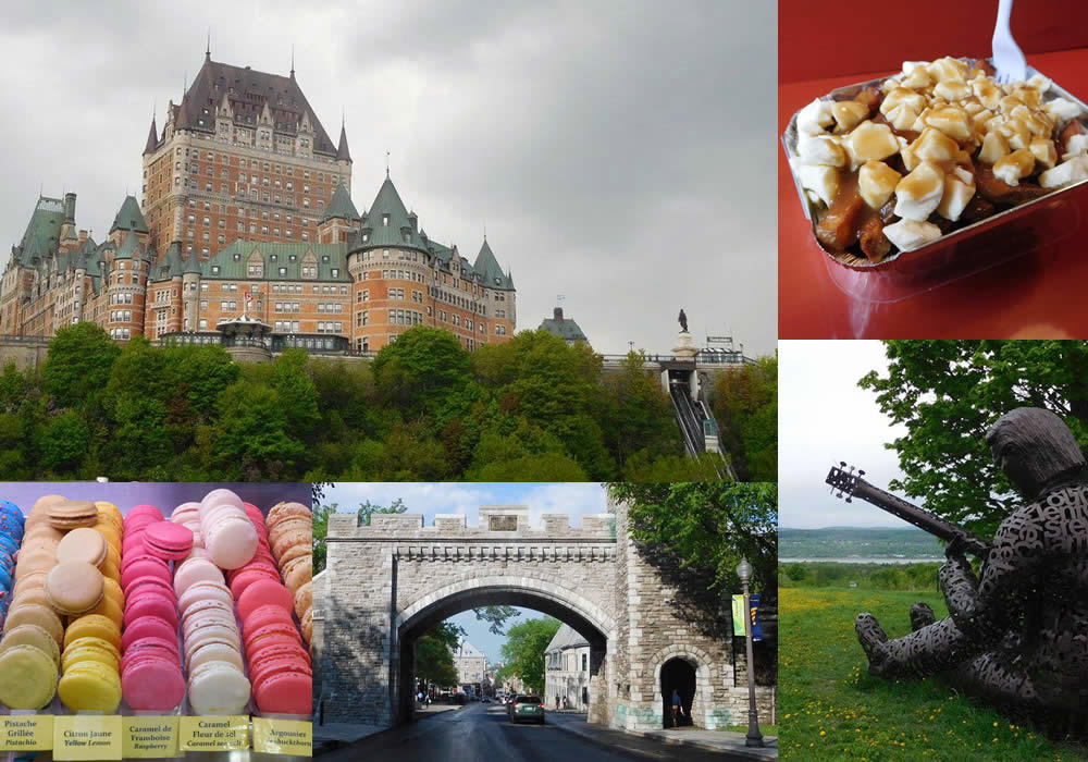 weekend destination quebec city composite
