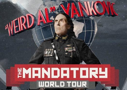 weird al mandatory tour 2015 poster clip