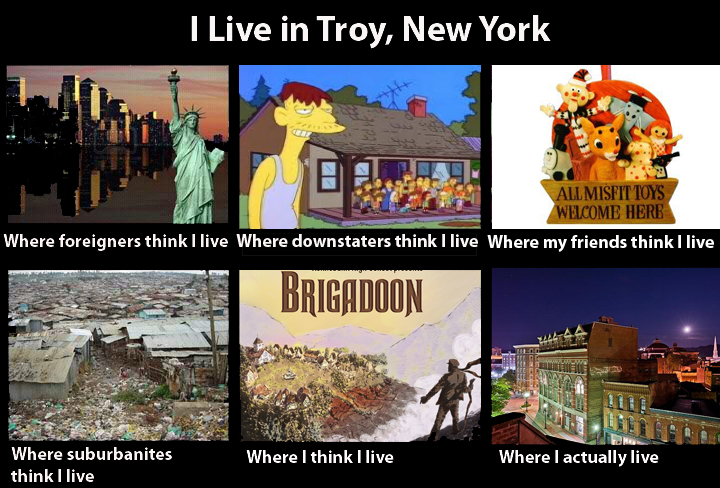 what people think I Live In Troy by Duncan Crary