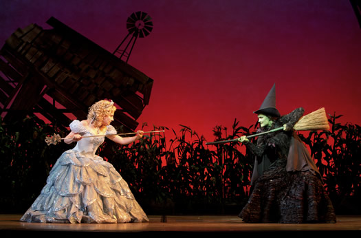 wicked glinda elphaba by joan marcus