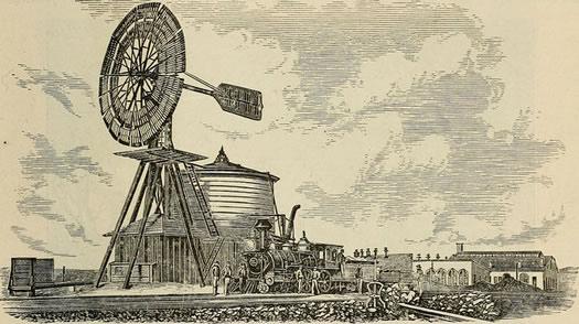 windmill at Laramie WY 1876