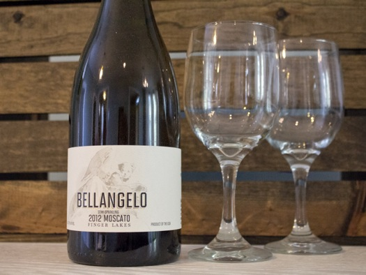 wine touring Bellangelo moscato