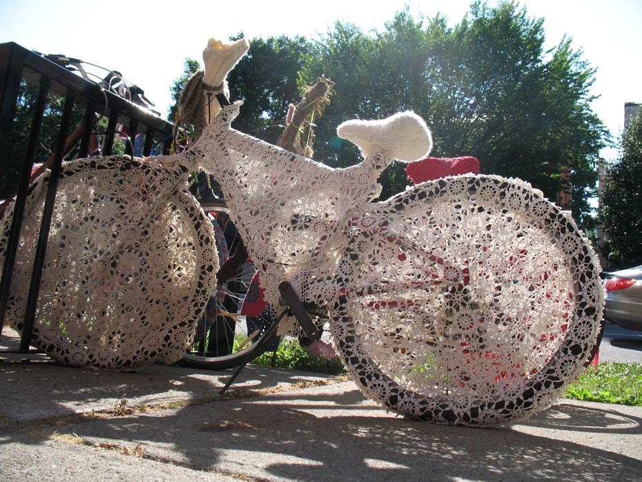 yarn bomb bikes saratoga 3