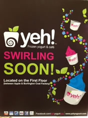 yeh frozen yogurt coming soon poster