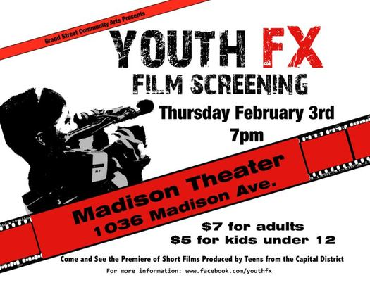Youth FX Screening Flyer