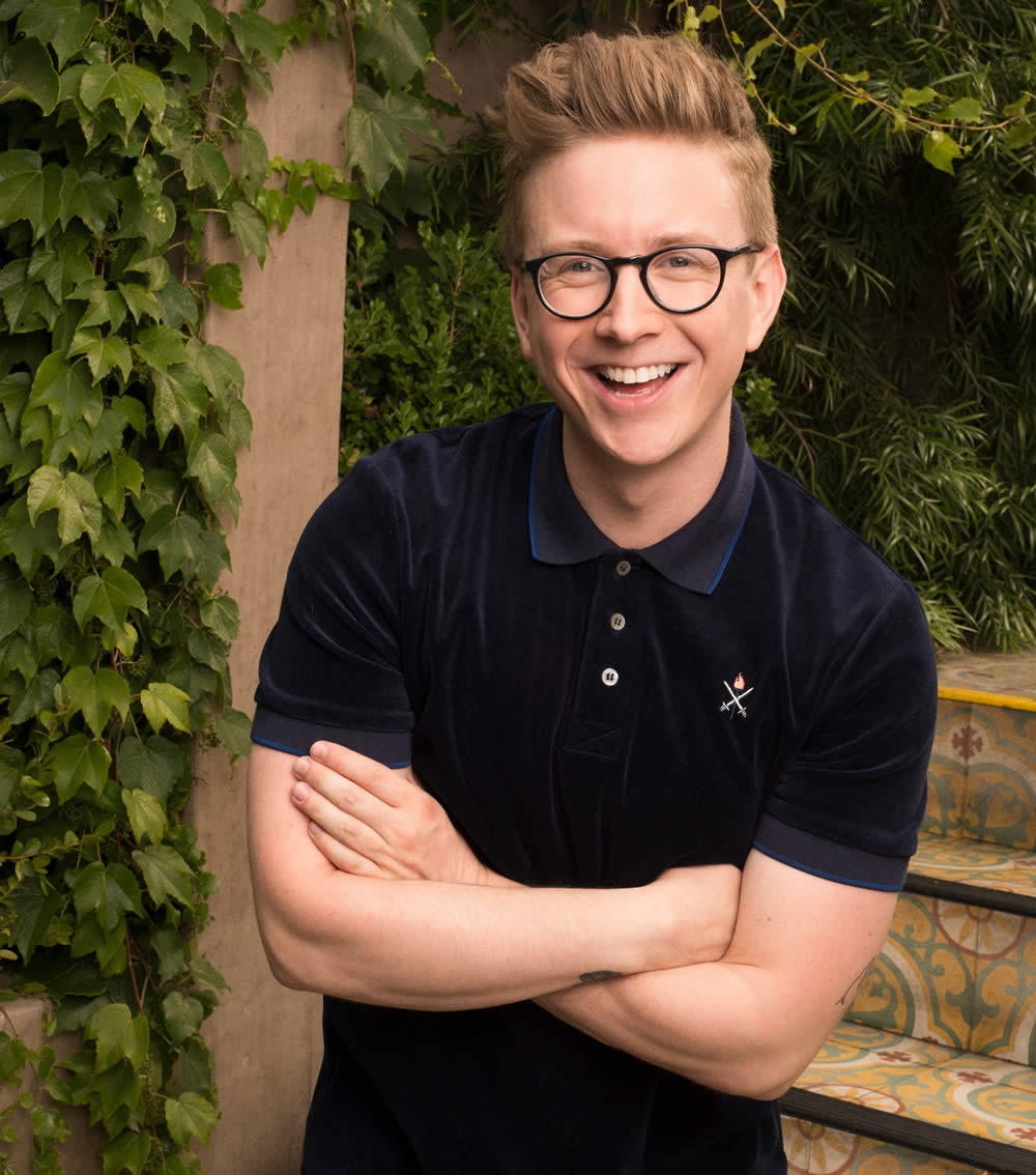 Youtube star Tyler Oakley