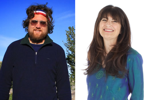 zak pelaccio and ruth reichl