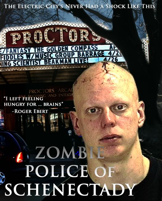 zombie police of schenectady