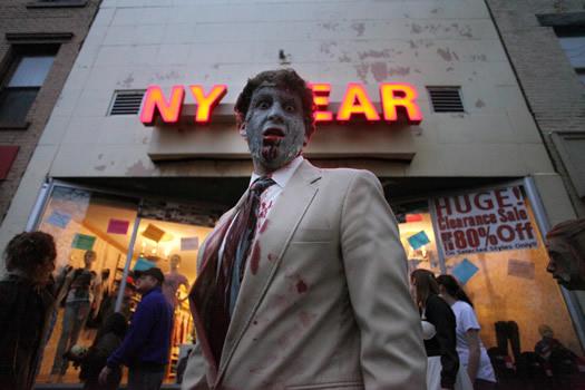 a zombie