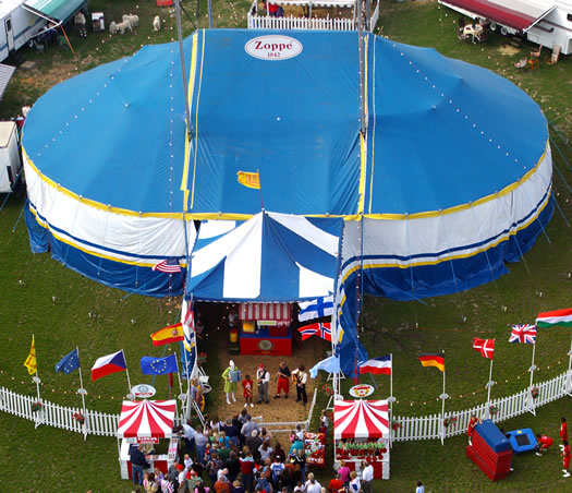 zoppe circus big top tent