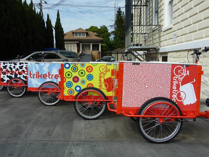 Startup2018 Market Pops treat trike examples