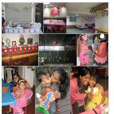Birthday parties for homeless children