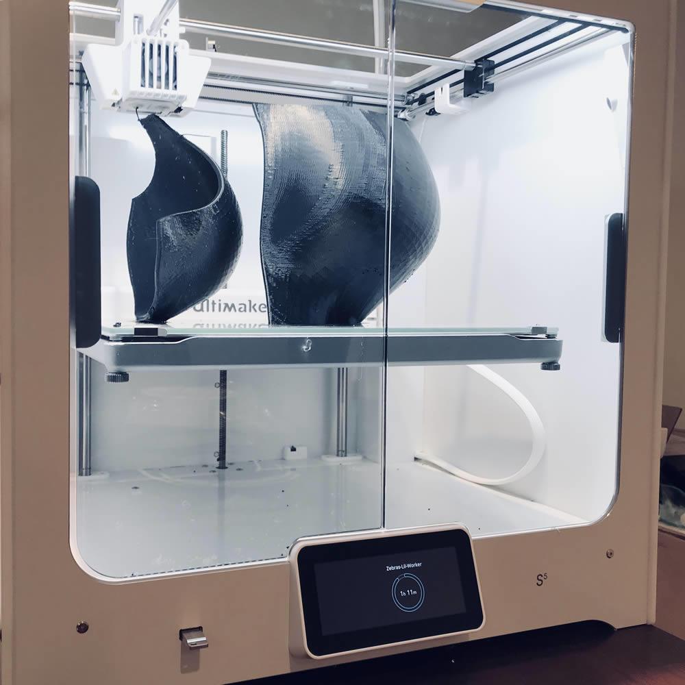 Startup2018 ZeBra Bras Bras 3D printer